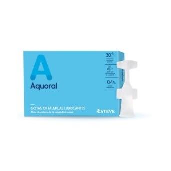 Aquoral Gotas Oftalmicas  0,5 ml 20 Uds
