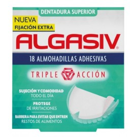 Algasiv Dentadura Superior 18 Almohadillas