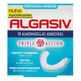 Algasiv Dentadura Inferior 18 Almohadillas