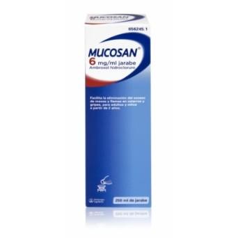 Mucosan 6 Mg/Ml Jarabe 250 Ml