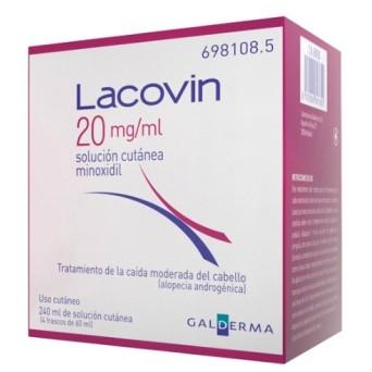 Lacovin 20 Mg/Ml Solucion 4 Frascos 60 Ml