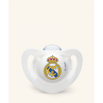 Nuk Chupete Silicona Real Madrid 18- 36 Meses
