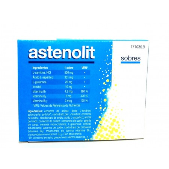 Astenolit Granulado 12 Sobres