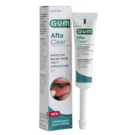 Aftaclear Gum Gel 10 Ml