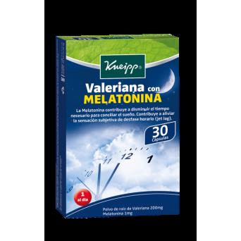 Valeriana Melatonina 30 Capsulas