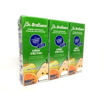 Bi-Oralsuero Frutas Pack 3x200