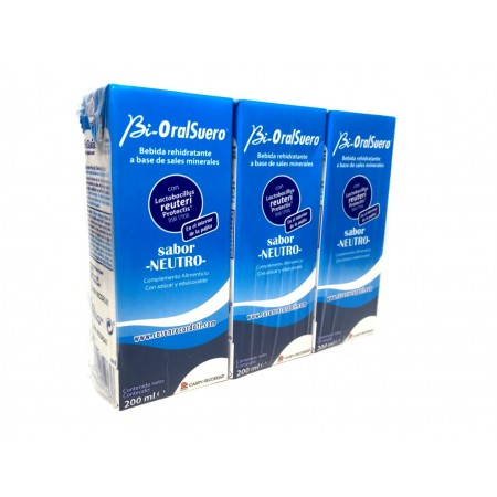 Bi-Oralsuero Neutro Pack 3 x 200 ml
