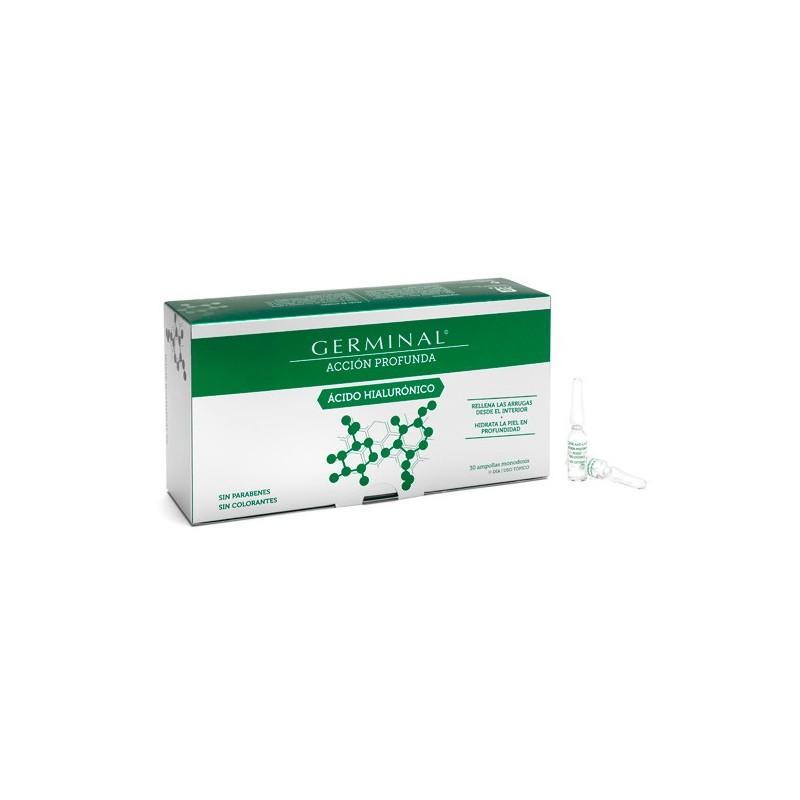 Germinal Accion Profunda Ac Hialuronico 30 Amp