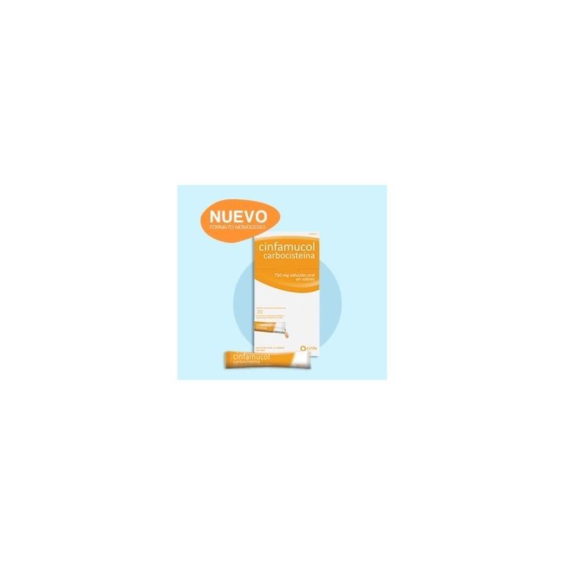 Cinfamucol Carbocisteina 750 Mg 12 Sobres Soluci