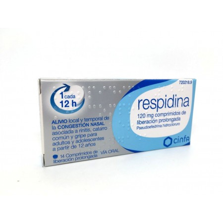 Respidina 120 Mg Comp