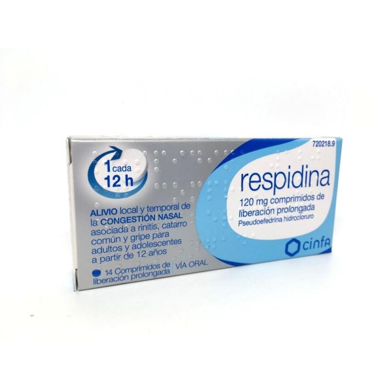 Respidina 120 Mg Comp