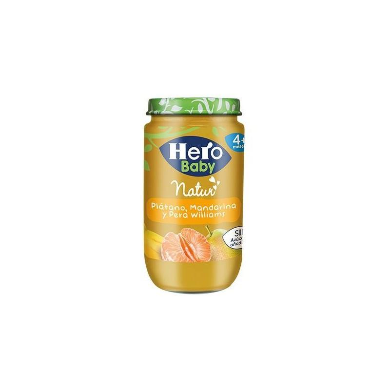 Hero Baby Platano Mandarina Pera 250g