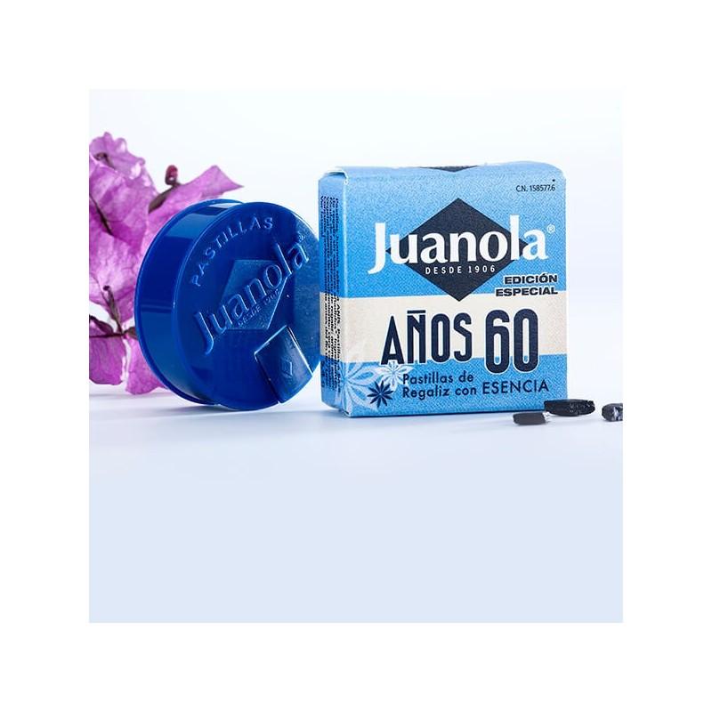 Juanola Pastillas Regaliz Esencia Anís Años 60