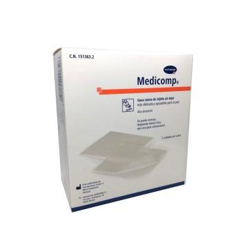 Medicomp  Gasas 10x10 25 Unidades