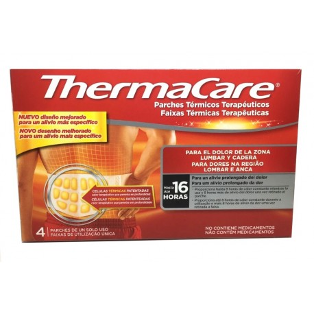 Thermacare Lumbar Y Cadera 4 uds