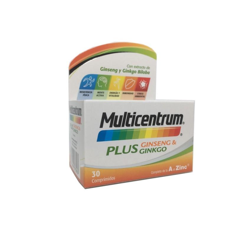 Multicentrum Plus Ginseng & Ginkgo 30 comp