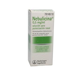 Nebulicina Nebulizador Nasal 10 ml