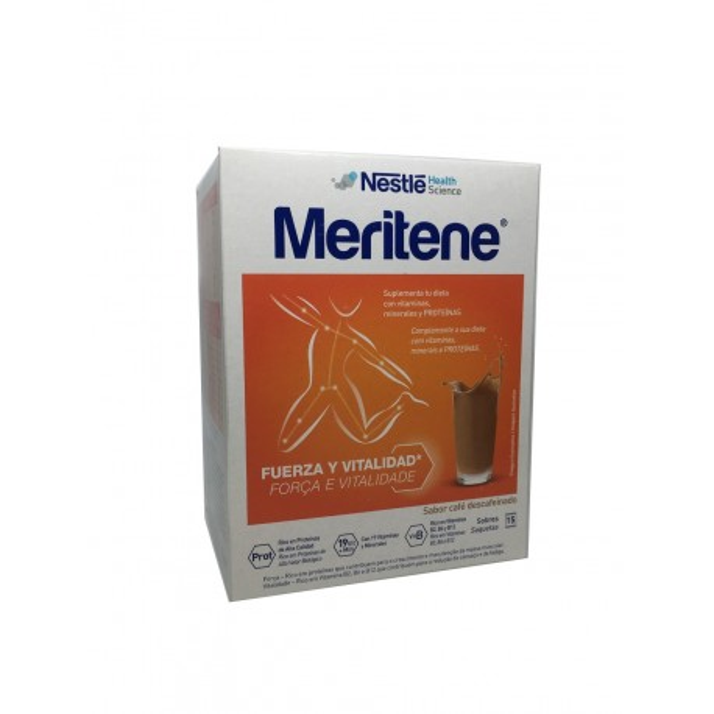 Meritene Cafe Descafeinado 15 Sobres