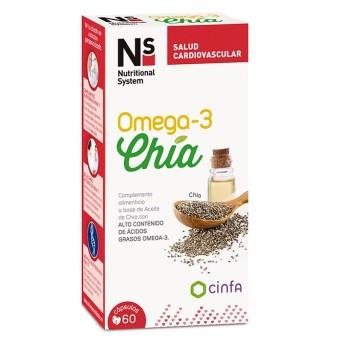 Ns Omega 3 Chia 60 Caps
