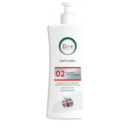 Be+ Anticaida Champú Fortalecedor 500 Ml