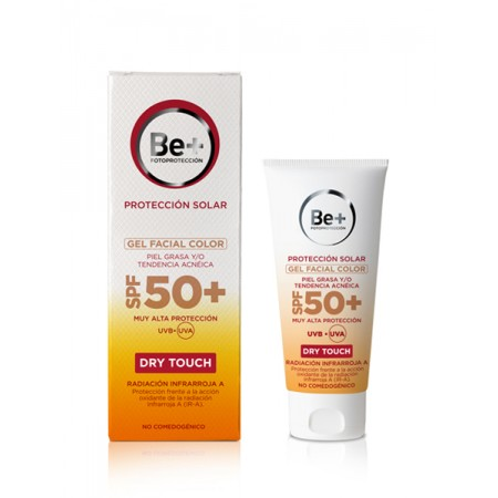 Be+ Gel Facial Color Piel Grasa Spf50+ 50 Ml