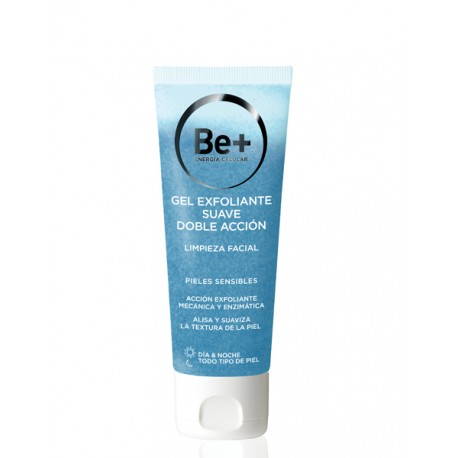 Be+ Gel Exfoliante Doble Acción 75 Ml