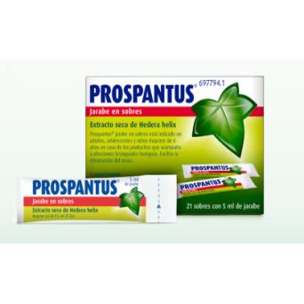 Prospantus 35 Mg 21 Sobres Jarabe 5 Ml