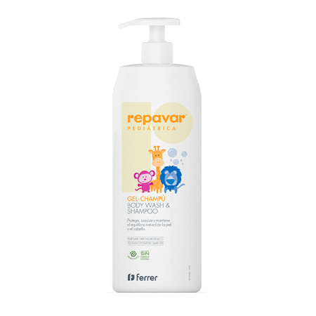 Repavar Pediátrico Gel Champú 750 Ml