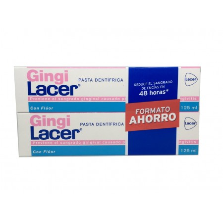 Gingilacer Pasta 125 ml Pack Ahorro
