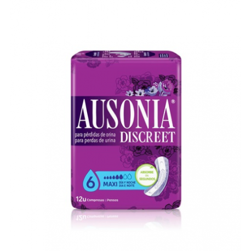 Ausonia Discreet Maxi 12 Uds