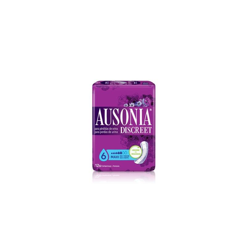 Ausonia Discreet Maxi Night 12 Uds