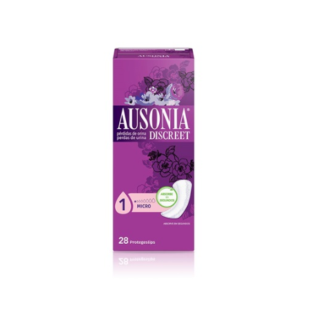 Ausonia Discreet Micro 28 Uds