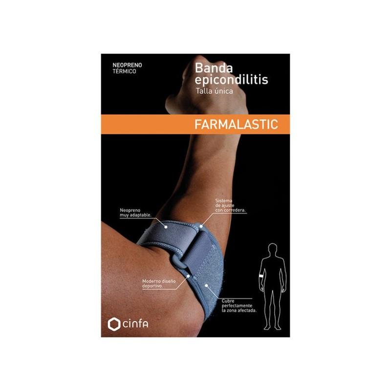 Farmalastic Banda Epicondilitis Neopreno Única