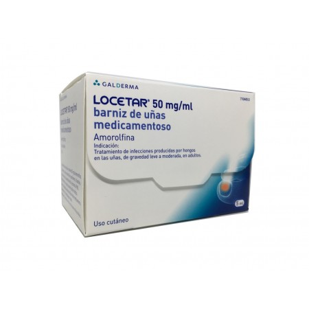 Locetar 50 Mg/Ml Barniz Uñas Medicamentoso 5 Ml