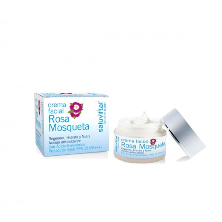 Saluvital Crema Facial Mosqueta P. Normal 50 Ml