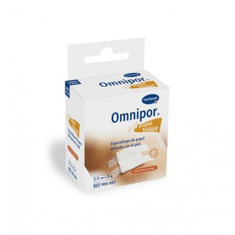 Esparadrapo  Omnipor 5x2,5 cm