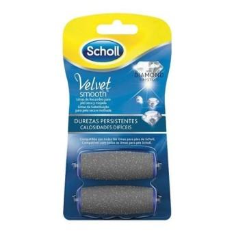 Scholl Velvet Smooth Recambio Duro 2 Uds