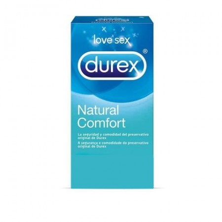 Profil Durex Natural Plus 6 Uds