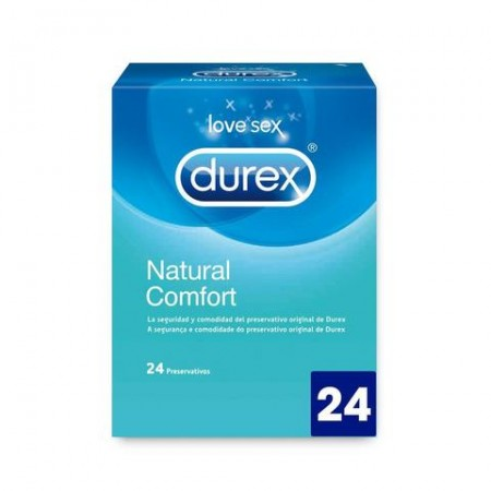 Profil Durex Natural Plus 24 Uds