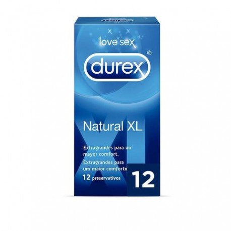 Profil Durex Easy On Xl 12 Uds