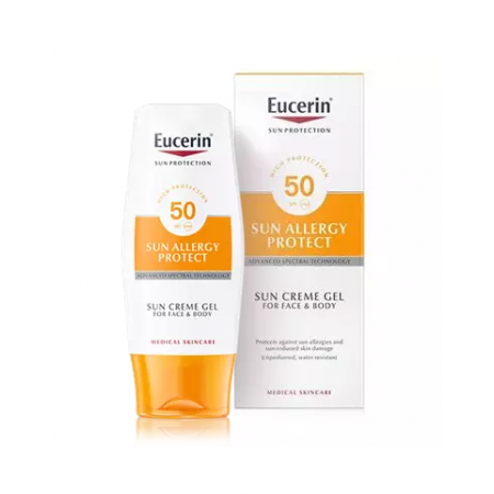 Eucerin Sun Cream Gel Allergy FPS 50 150 Ml