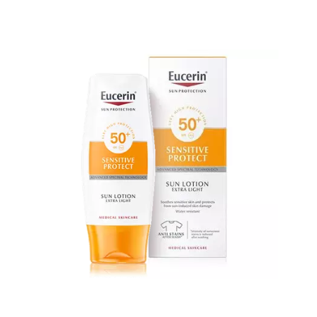 Eucerin Sun Lotion Extra Light FPS 50+ 150 Ml