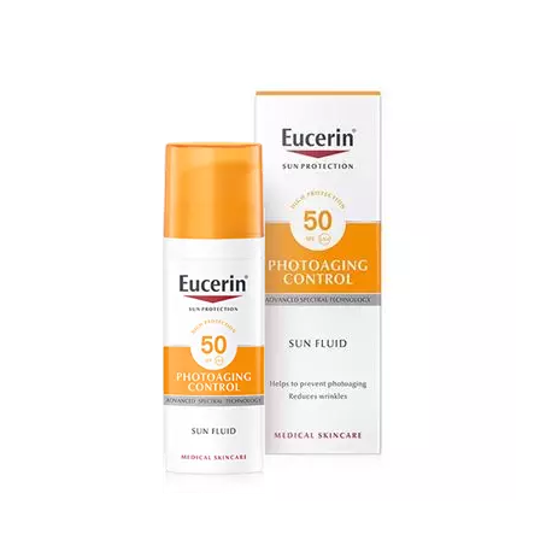 Eucerin Sun Fluid Photoaging FPS 50 150 Ml