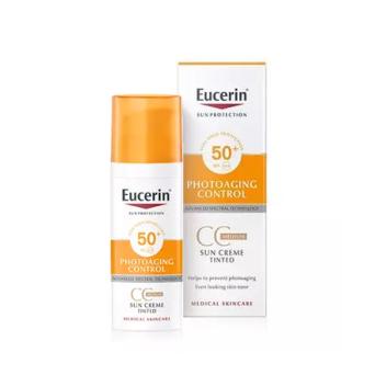 Eucerin Sun CC Creme FPS 50+ 50 Ml