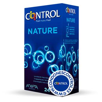 Profilácticos Control Adapta Nature 24 uds