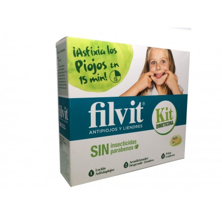 Filvit Kit Antipiojos Dimeticona