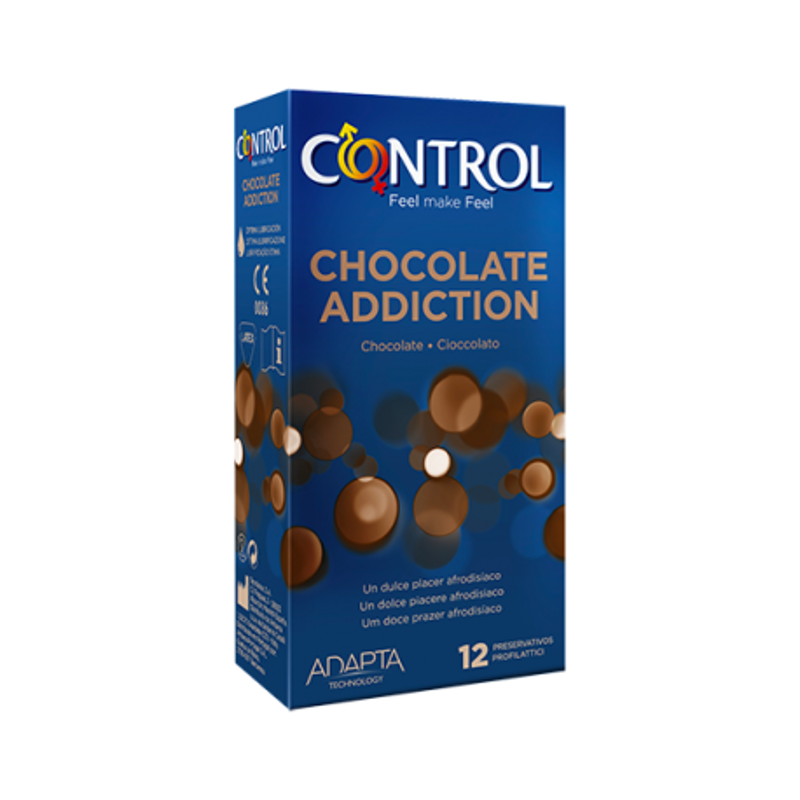 Control Adapta Chocolate Adiction 12 Uds