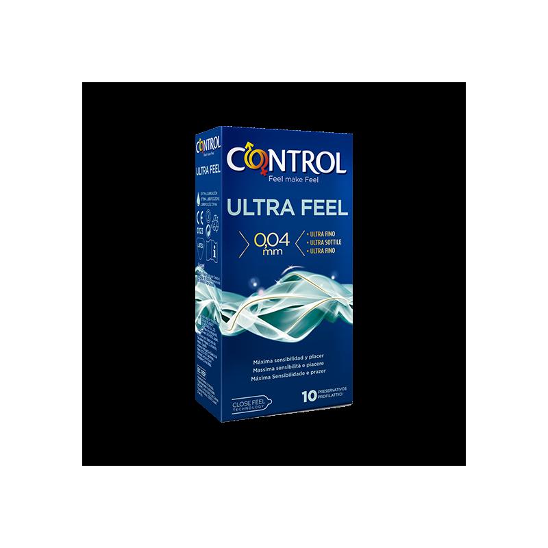 Profilacticos Control Ultrafeel 10 Uds
