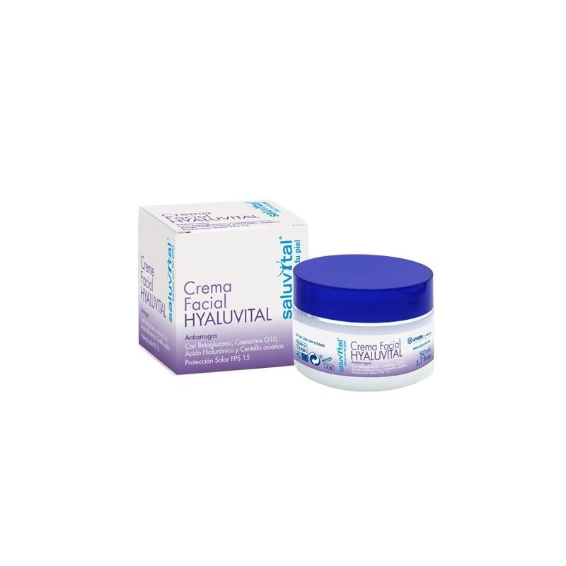 Saluvital Crema Facial Hyaluvital 50 Ml