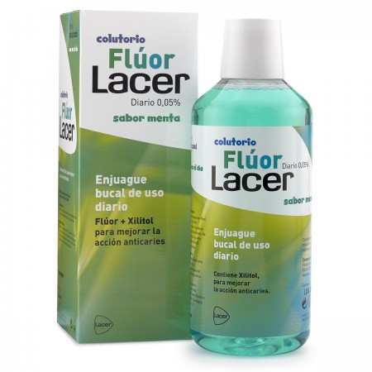 Fluor Lacer 0,05 Dia Menta 500ml